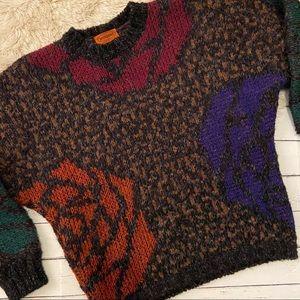 Missoni vintage rose sweater